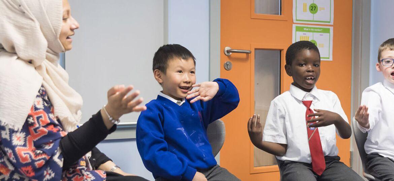 Autistic Children playing   Autism